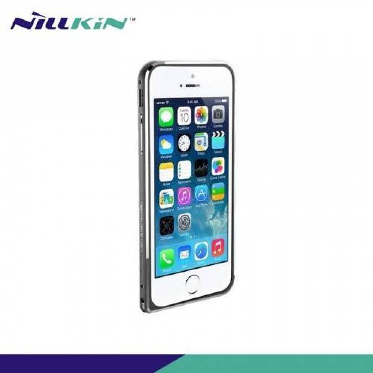 APPLE iPhone 6sNILLKIN GOTHIC BORDER alumínium védő keret - BUMPER - SZÜRKE - APPLE iPhone 6 - GYÁRI