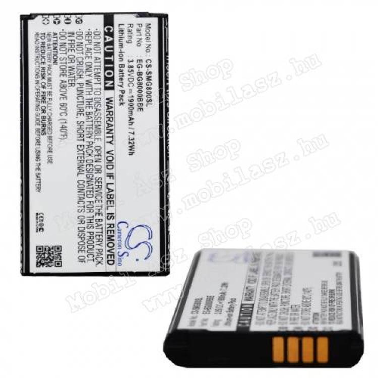 SAMSUNG Galaxy S5 mini (SM-G800)Akku 2300 mAh LI-ION - SAMSUNG EG-BG8000BBE kompatibilis - SAMSUNG SM-G800 Galaxy S5 mini