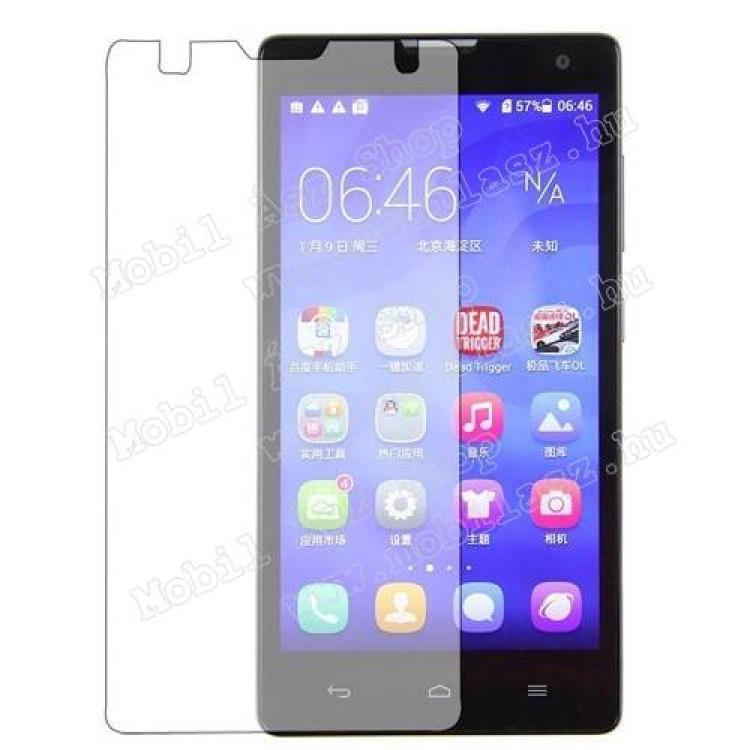 HUAWEI Honor 3C 4GKépernyővédő fólia - Clear - 1db, törlőkendővel - HUAWEI Honor 3C 4G