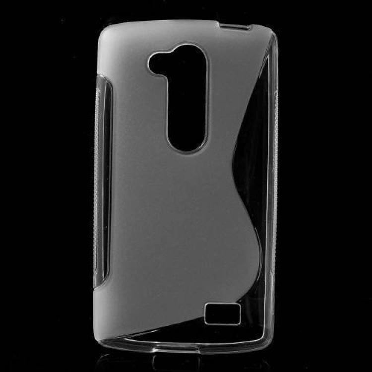 LG D295 G2 LiteSzilikon védő tok  hátlap - FÉNYESMATT - ÁTLÁTSZÓ - LG L70+ L Fino (D290n)