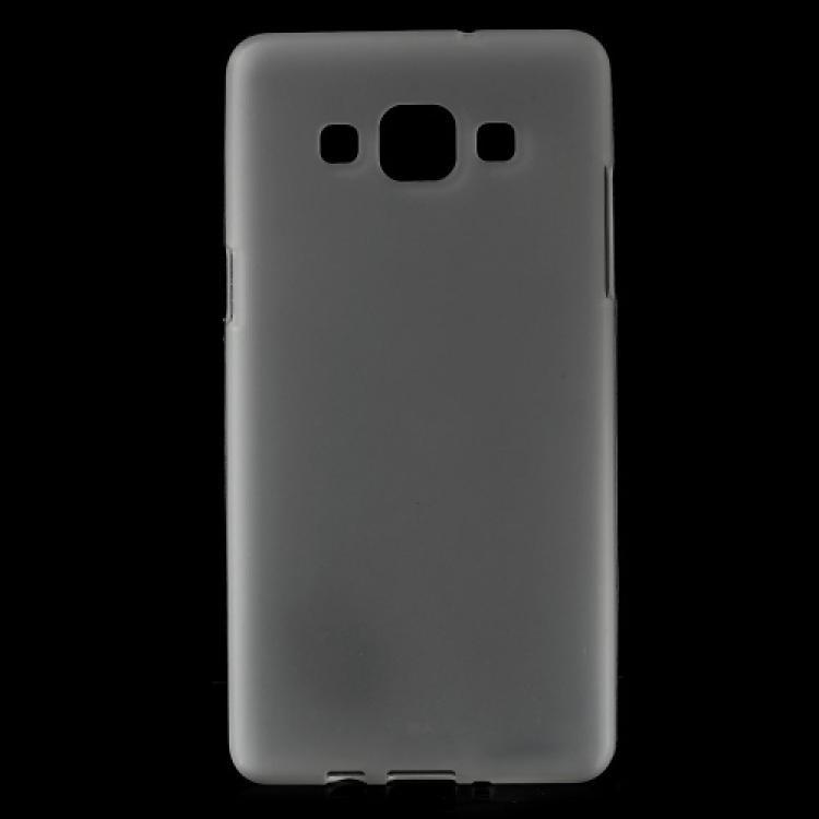 SAMSUNG Galaxy A5 DUOS (SM-A500F/DS)Szilikon védő tok  hátlap - FLEXI - FEHÉR - SAMSUNG SM-A500F Galaxy A5