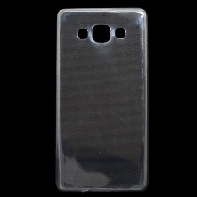 SAMSUNG Galaxy A5 DUOS (SM-A500F/DS)Szilikon védő tok  hátlap - ULTRAVÉKONY! 0,3 mm - ÁTLÁTSZÓ - SAMSUNG SM-A500F Galaxy A5