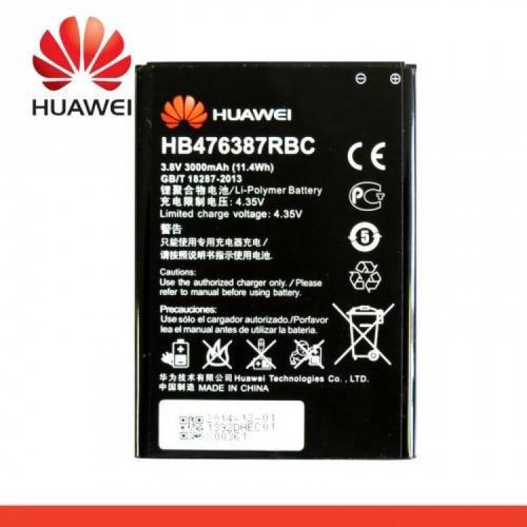 HUAWEI Ascend G750 (Honor 3X)Akku 3000 mAh LI-Polymer - HB476387RBC - HUAWEI Ascend G750 - GYÁRI - Csomagolás nélküli