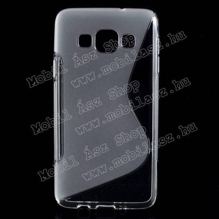 SAMSUNG Galaxy A3 DUOS (SM-A300F/DS)Szilikon védő tok  hátlap - EXKLUZÍV DESIGN - FÉNYES  MATT - ÁTLÁTSZÓ - SAMSUNG SM-A300F Galaxy A3