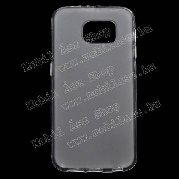 SAMSUNG Galaxy S6 (SM-G920)Szilikon védő tok  hátlap - FLEXI - FEHÉR - SAMSUNG SM-G920 Galaxy S6