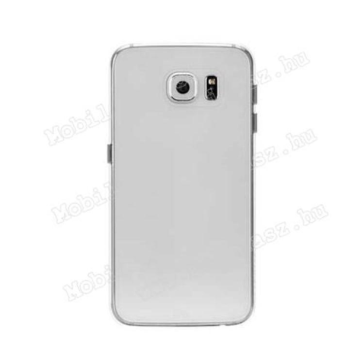 SAMSUNG Galaxy S6 (SM-G920)CASE-MATE BARELY THERE műanyag védő tok  hátlap - CM032355 - ÁTLÁTSZÓ - SAMSUNG SM-G920 Galaxy S6 - GYÁRI