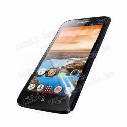 Képernyővédő fólia - HD Clear - 1db, törlőkendővel - Lenovo A680