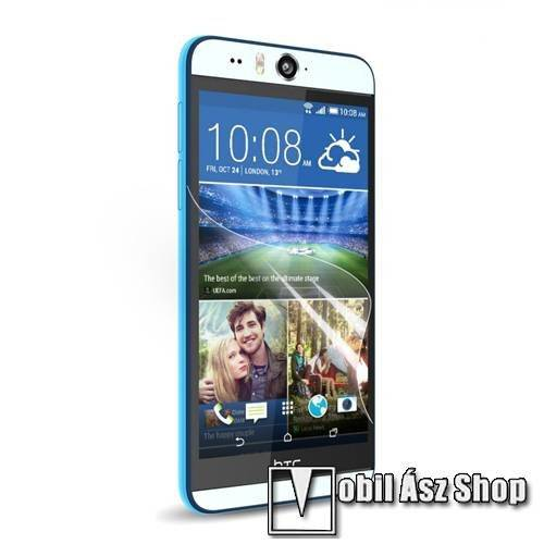 Képernyővédő fólia - HD Clear - 1db, törlőkendővel - HTC Desire Eye