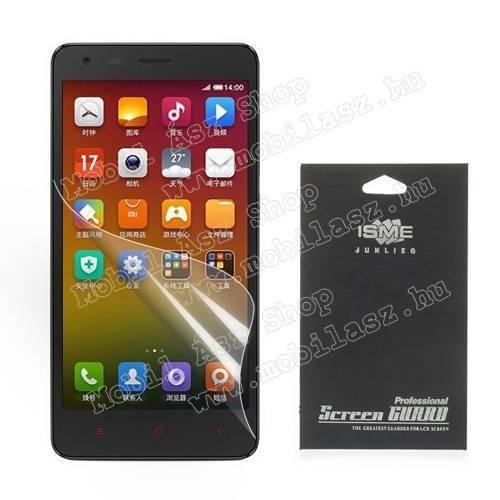 Képernyővédő fólia - Clear - 1db, törlőkendővel - Xiaomi Hongmi 2 / Redmi 2 / Redmi 2 Prime / Redmi 2 Pro