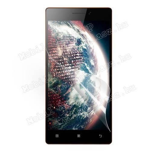 Képernyővédő fólia - Clear - 1db, törlőkendővel - Lenovo Vibe X2