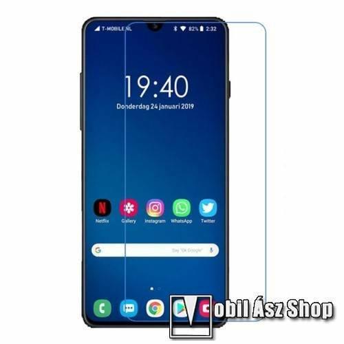 Képernyővédő fólia - Ultra Clear - 1db, törlőkendővel - SAMSUNG Galaxy A40 (SM-A405F)