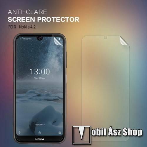 NILLKIN képernyővédő fólia - Anti-Glare - MATT! - 1db, törlőkendővel - NOKIA 4.2 - GYÁRI