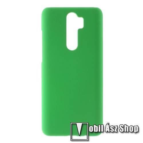 Műanyag védő tok / hátlap - Hybrid Protector - ZÖLD - Xiaomi Redmi Note 8 Pro