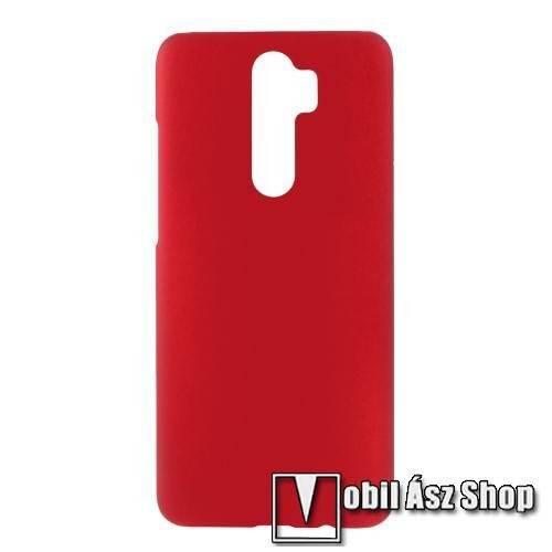 Műanyag védő tok / hátlap - Hybrid Protector - PIROS - Xiaomi Redmi Note 8 Pro