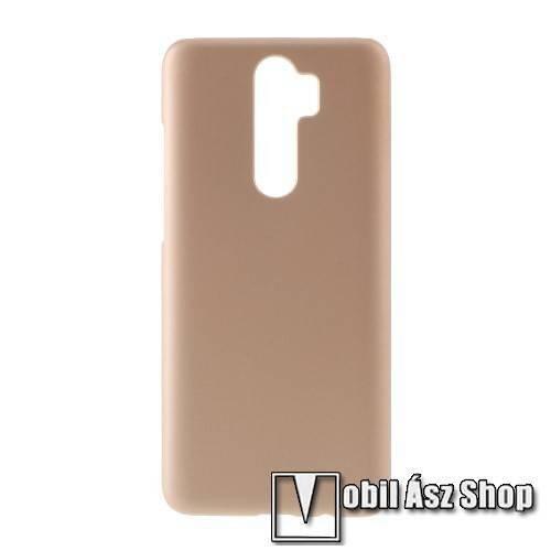 Műanyag védő tok / hátlap - Hybrid Protector - ARANY - Xiaomi Redmi Note 8 Pro