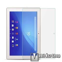 Előlap védő karcálló edzett üveg - 0,3 mm vékony, 9H, Arc Edge, A képernyő sík részét védi - SONY Xperia Z4 Tablet LTE / SONY Xperia Z4 Tablet Wi-Fi