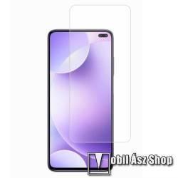 Előlap védő karcálló edzett üveg - 0,3 mm vékony, 9H, Arc Edge, A képernyő sík részét védi - Xiaomi Redmi K30 / Xiaomi Redmi K30 5G / Xiaomi Poco X2 / Redmi K30i 5G