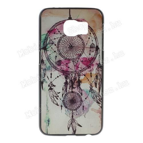 Műanyag védő tok / hátlap - ÁLOMCSAPDA MINTÁS - SAMSUNG SM-G920 Galaxy S6