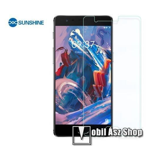 SUNSHINE Hydrogel TPU képernyővédő fólia - Ultra Clear, ÖNREGENERÁLÓ! - 1db, a teljes képernyőt védi - Oneplus 3T - GYÁRI