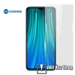 SUNSHINE Hydrogel TPU képernyővédő fólia - Ultra Clear - 1db, a teljes képernyőt védi, ÖNREGENERÁLÓ! - Xiaomi Redmi Note 8 Pro - GYÁRI