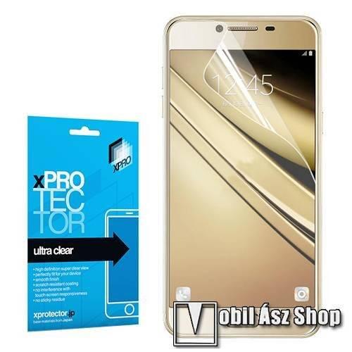 Xpro képernyővédő fólia - Clear - 1db, törlőkendővel - SAMSUNG Galaxy C5 - GYÁRI
