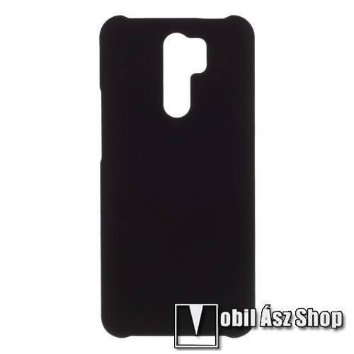 Műanyag védő tok / hátlap - FEKETE - Hybrid Protector - Xiaomi Redmi 9 / Xiaomi Redmi 9 Prime