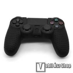Szilikon védőtok SONY PS4 kontrollerhez - FEKETE