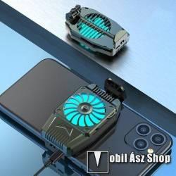 UNIVERZÁLIS telefonhűtő - 45 x 76 x 16mm - FEKETE