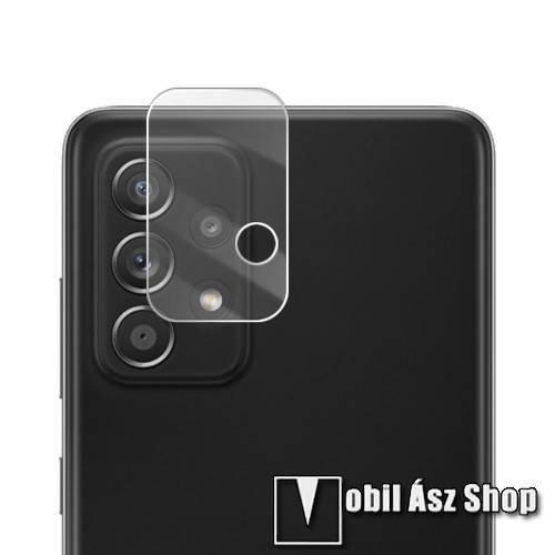MOCOLO kamera lencsevédő karcálló edzett üveg, 9H, 0,33mm, 1db - SAMSUNG Galaxy A72 5G (SM-A726F) / Galaxy A72 4G (SM-A725F) / SAMSUNG Galaxy A52 5G (SM-A526F) / Galaxy A52 4G (SM-A525F) / A52s 5G (SM-A528B / SM-A528B/DS) - GYÁRI