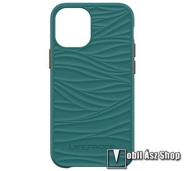 LIFEPROOF WAKE műanyag védő tok / hátlap - ZÖLD - szilikon betétes, ERŐS VÉDELEM! - APPLE iPhone 12 mini - GYÁRI