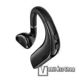 HOCO BOROFONE BC31 MELODICO BUSINESS bluetooth mono headset - FEKETE - v5.0, beépített mikrofon, fülbe dugható, beépített 150mAh akkumulátor, 10 óra beszélgetési idő - BC31 - GYÁRI
