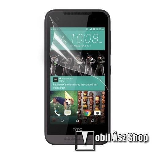 Képernyővédő fólia - Ultra Clear - 1db, törlőkendővel - HTC Desire 520