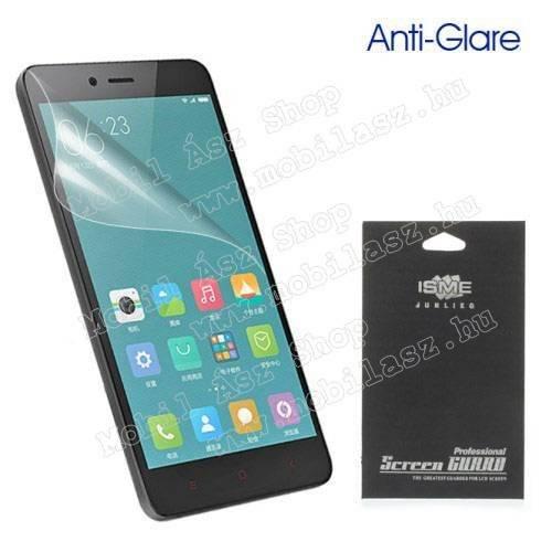 Képernyővédő fólia - Anti-glare - MATT! - 1db, törlőkendővel - XIAOMI Redmi Note 2 / Redmi Note 2 Prime