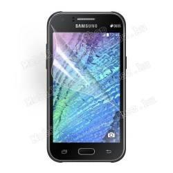 Képernyővédő fólia - Ultra Clear - 1db, törlőkendővel - SAMSUNG SM-J110 Galaxy J1 Ace