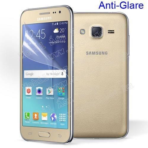 Képernyővédő fólia - Anti-glare - MATT! - 1db, törlőkendővel - SAMSUNG SM-J200F Galaxy J2