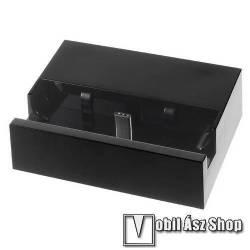 Bluboo S1 Asztali töltő / dokkoló - adatátviteli állvány, USB 3.1 Type C - FEKETE