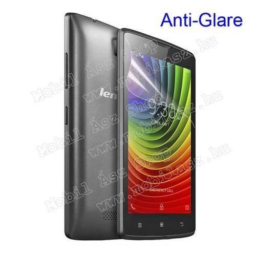 Képernyővédő fólia - Anti-glare - MATT! - 1db, törlőkendővel - Lenovo A2010