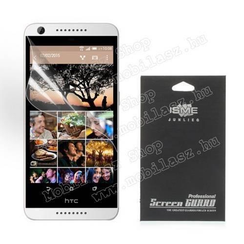 Képernyővédő fólia - Ultra Clear - 1db, törlőkendővel - HTC Desire 626