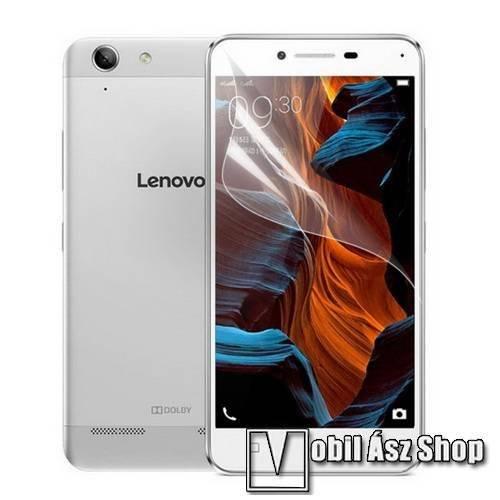 Képernyővédő fólia - Clear - 1db, törlőkendővel - Lenovo Lemon 3