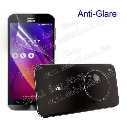 Képernyővédő fólia - Anti-glare - MATT! - 1db, törlőkendővel - ASUS Zenfone Zoom (ZX551ML / ZX550)