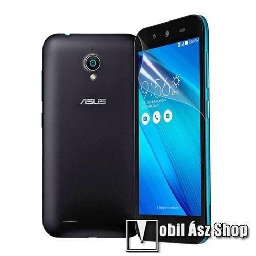 Képernyővédő fólia - Clear - 1db, törlőkendővel - ASUS Zenfone Live (G500TG)