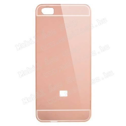 Alumínium védő tok / hátlap - ROSE GOLD - Xiaomi Mi 5