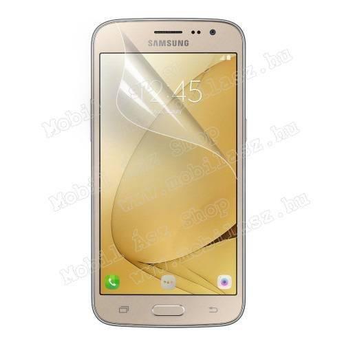 Képernyővédő fólia - Clear - 1db, törlőkendővel - SAMSUNG Galaxy J2 (2016)