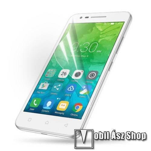 Képernyővédő fólia - Clear - 1db, törlőkendővel - Lenovo Vibe C2