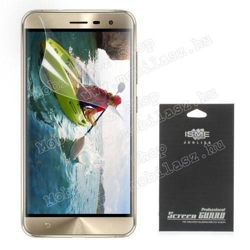Képernyővédő fólia - Clear - 1db, törlőkendővel - ASUS Zenfone 3 (ZE552KL)