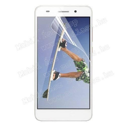 Képernyővédő fólia - Clear - 1db, törlőkendővel - HUAWEI Honor 5A / HUAWEI Y6 II / HUAWEI Honor Holly 3