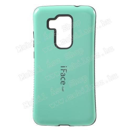 iFace műanyag védő tok / hátlap - CYAN KÉK - szilikon betétes - HUAWEI Nova Plus / HUAWEI G9 Plus / HUAWEI Maimang 5