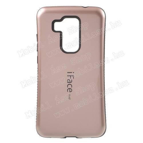 iFace műanyag védő tok / hátlap - ROSE GOLD - szilikon betétes - HUAWEI Nova Plus / HUAWEI G9 Plus / HUAWEI Maimang 5