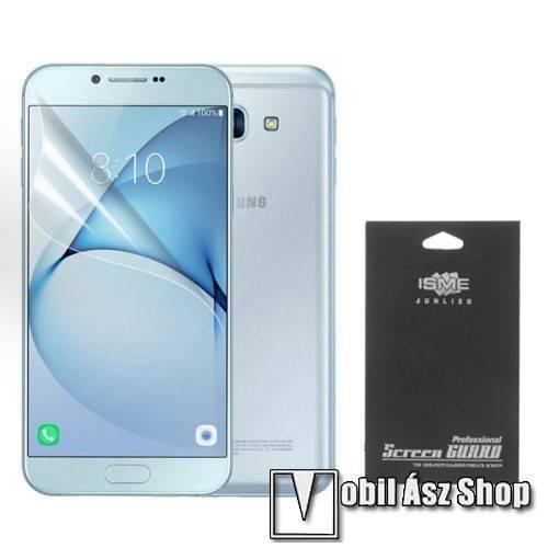 Képernyővédő fólia - HD Clear - 1db, törlőkendővel - SAMSUNG SM-A810F Galaxy A8 (2016)