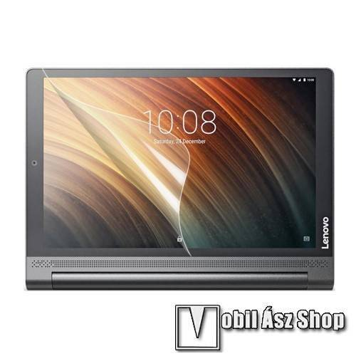 Képernyővédő fólia - HD Clear - 1db, törlőkendővel - Lenovo Yoga Tab 3 Plus 10.1